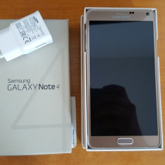 Samsung galaxy Note 4 Gold - Telefon mobil Samsung Galaxy Note 4, Auriu, Vodafone