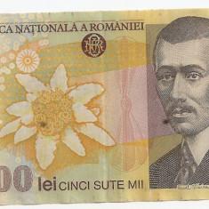 ROMANIA 500000 Lei 2000 Ghizari VF - Bancnota romaneasca