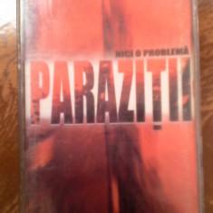 Caseta Parazitii - Nici o problema - Muzica Hip Hop a&a records romania, Casete audio