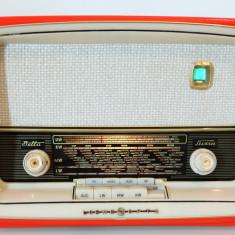 Radio lampi Loewe Opta Bella Luxus 4714W, complet restaurat - Aparat radio