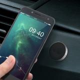 Suport magnetic auto pentru telefon, prindere pe bord cu adeziv - Suport auto
