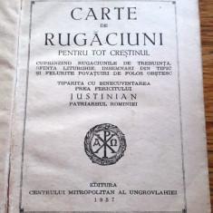 Carte de rugaciuni pentru tot crestinul Patriarhul Justinian - 1957