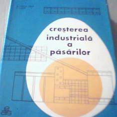 Mircea Popescu Baran, Vasile Lascar - CRESTEREA INDUSTRIALA A PASARILOR { 1966 }, Alta editura