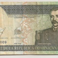 REPUBLICA DOMINICANA 10 Pesos Oro 2003 VF - bancnota america