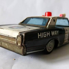 Macheta masina de tabla cu frictiune Bandai Ford Japan Highway Patrol P.D. 20cm - Macheta auto