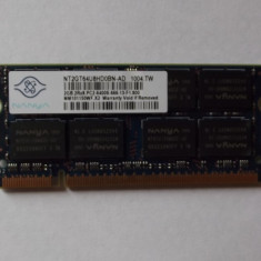 Ram laptop 2 Gb DDR2 Nanya 800 Mhz / PC2-6400S/ Testat (12B) - Memorie RAM laptop