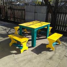 Masa cu canapele pentru gradina - Masa gradina