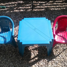 Set copii masuta cu scaune - Masuta/scaun copii