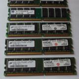 Ram 1 GB DDR1 / 400 Mhz / PC-3200U / Testate (22B)