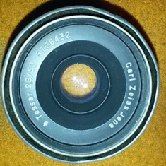 Obiectiv foto carl zeiss jenna tessar 2, 8 /50 defect