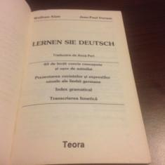LERNEN SIE DEUTSCH. METODA LAROUSSE DE INVATARE A LIMBII GERMANE - Curs Limba Germana teora