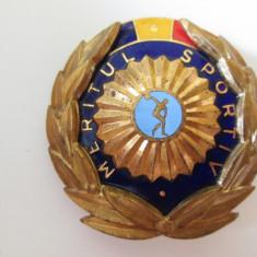 Ordinul Meritul Sportiv clasa a-III-a R.S.R.