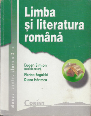 Limba si literatura romana, manual clasa a X-a 2000 foto
