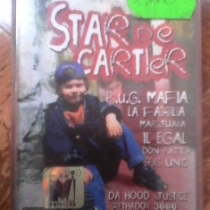 Caseta Star de cartier (Compilatie hip-hop) - Muzica Hip Hop cat music, Casete audio