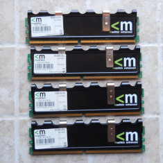 Kit Memorie Ram Mushkin 4 GB (4X1) 1066 Mhz DDR2 Desktop., Dual channel
