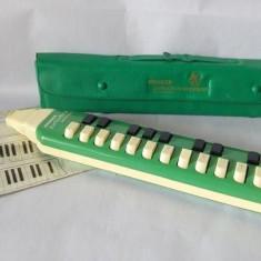 Clavieta Melodica soprano Hohner Germania, instrumet de suflat cu clape