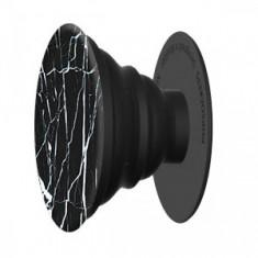 Popsockets BLACK MARBLE, Accesoriu telefon, UPC: 815373022258, Negru