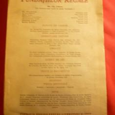 Revista Fundatiilor Regale -iulie 1946, 240 pag - Carte veche