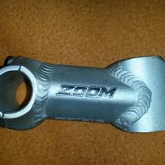 Pipa aluminiu zoom lungime centru centru 8 cm - Piesa bicicleta