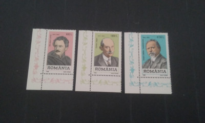 Romania 1998-LP 1463-Personalitati germane din Banat MNH,nestampilat foto