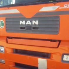 Vand camion MAN cu semiremorca Krono in stare buna de functionare