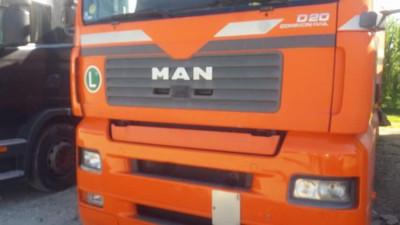 Vand camion MAN cu semiremorca Krono in stare buna de functionare foto