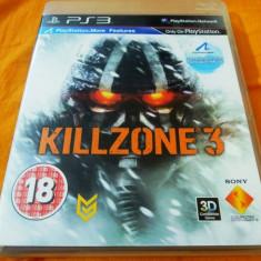 Joc Killzone 3 PS3, original, alte sute de jocuri! - Jocuri PS3 Sony, Actiune, 18+, Single player