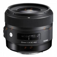 Sigma 30mm f/1.4 DC HSM Art - montura Nikon DX - Obiectiv DSLR