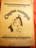 Emanoil Bucuta - Capra Neagra - Ed. 1938 Casa Scoalelor ,desene Mac Constantines