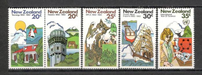 Noua Zeelanda. 1982 Aniversari si evenimente  KY.286