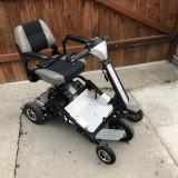Scuter electric pentru persoane cu handicap dizabilitati batrani BATERII NOI - Scaun cu rotile