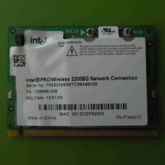 Placa de retea Wireless laptop Samsung x20