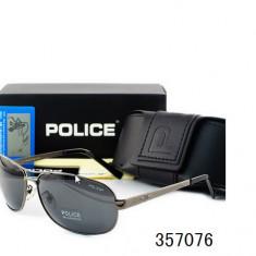 Ochelari De Soare Polarizati - POLICE - P8455  - Protectie UV 100% -  Model 2, Barbati, Protectie UV 100%