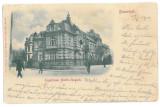 3096 - Litho, BUCURESTI, Legatia Austro-Ungara - old postcard - used - 1900, Circulata, Printata