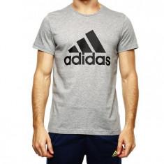 Tricou Adidas Ess Logo-Tricou Original-Tricou Barbat Bumbac- S23016 - Tricou barbati Nike, Marime: L, Culoare: Din imagine, Maneca scurta