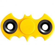 Jucarie antistres Star Batman Fidget Spinner Yellow