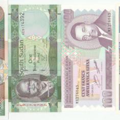 Lot bancnote Africa UNC - bancnota africa