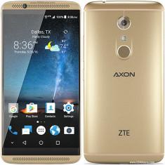 ZTE Axon 7 - Telefon mobil ZTE, Auriu, 32GB, Neblocat, Quad core, 3 GB