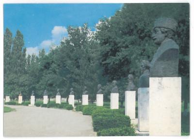 7161 - Romania ( 409 ) - Alba, BLAJ, statues - postcard - unused - 1998 foto