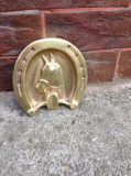 Scrumiera din bronz -Potcoava/Cal !!!