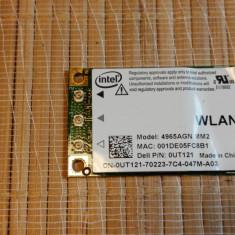 Placa Wireless Laptop Dell XPS M1330 PP25L (Intel 4965AGN MM2)