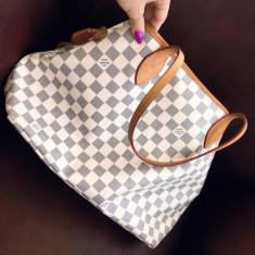 Geanta Louis Vuitton - Geanta Barbati Louis Vuitton, Marime: Medie, Culoare: Alb