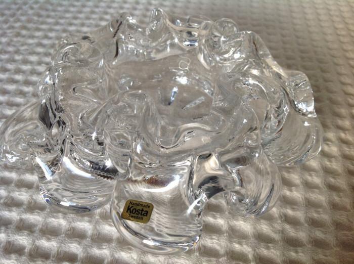 Scrumiera cristal Kosta Boda