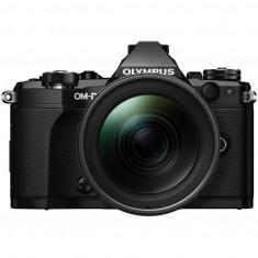 Aparat foto Mirrorless Olympus E-M5 Mark II black + obiectiv 12 - 40 mm