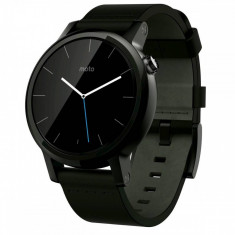 Smartwatch Motorola Moto 360 2nd generation 42 mm Men's Leather Black