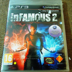 Joc Infamous 2, PS3, original, alte sute de jocuri! - Jocuri PS3 Sony, Shooting, 18+, Single player