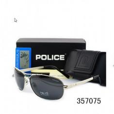 Ochelari De Soare Polarizati - POLICE - P8455  - Protectie UV 100% -  Model 3, Barbati, Protectie UV 100%