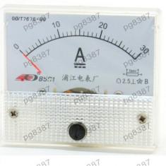 Ampermetru analogic de panou, 30A DC - 111464