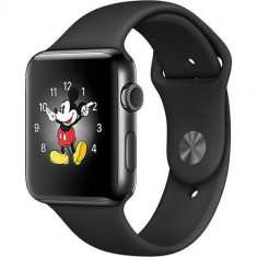 Smartwatch Apple Watch 2 Sport Black Aluminium Case 42mm Black Sport Band