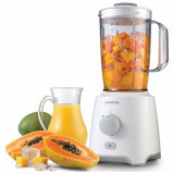 Blender Kenwood BLP400WH, 650 W, bol 1,6 l, 3 viteze plus impuls
